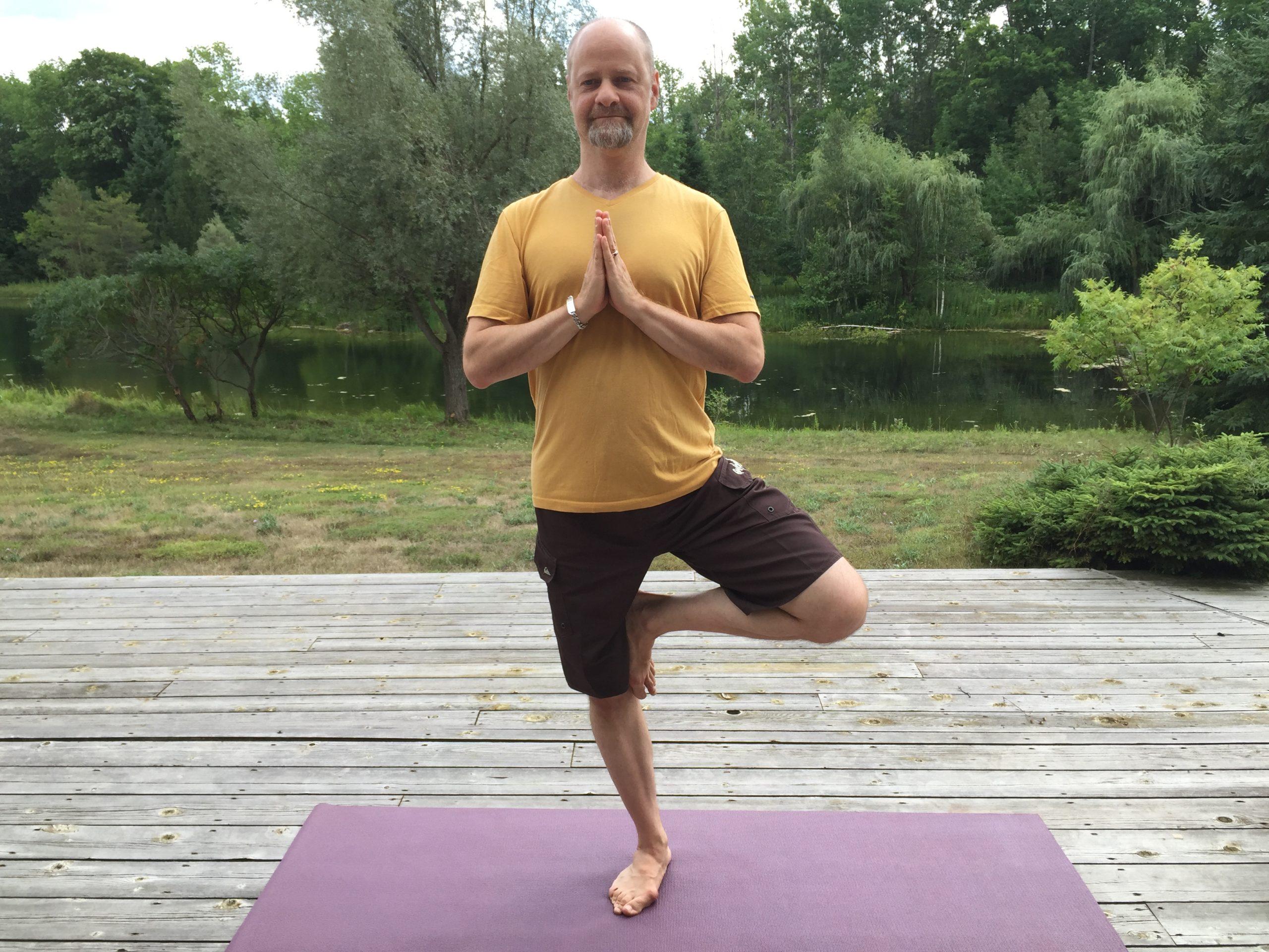 Why Yoga? I'm a Crystal Guy!