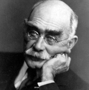 "Rudyard Kipling, author of the powerful poem ""If."""