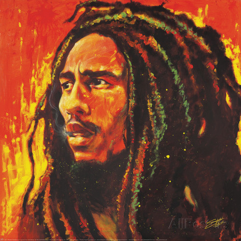 Bob Marley as envisioned by Stephen Fishwick