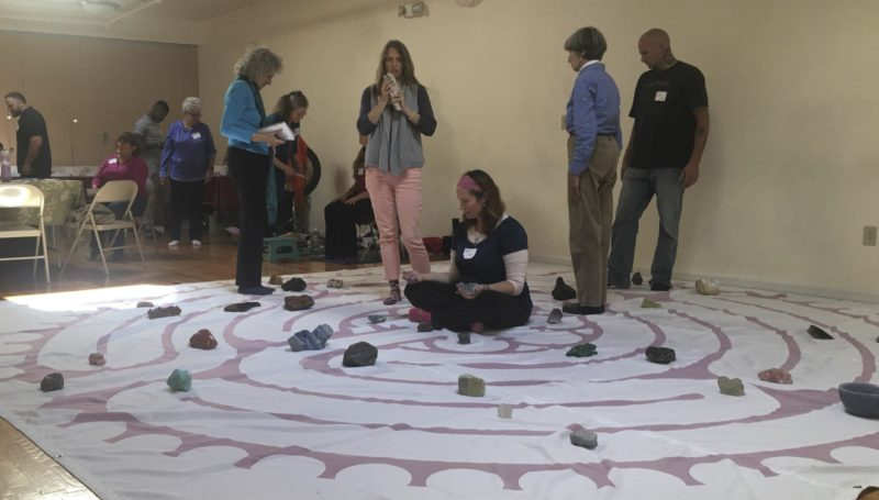 Crystal Labyrinth, home to multiple meditative narratives