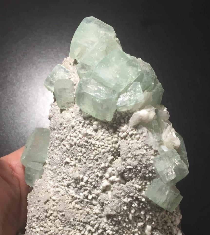 Apophyllite (green)