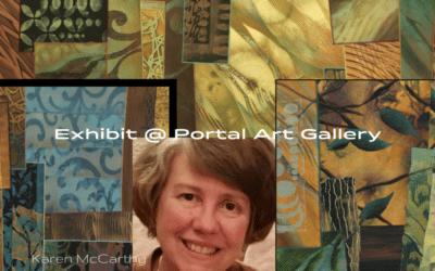 Art Exhibit with Karen McCarthy (2/17 till 5/6/18)