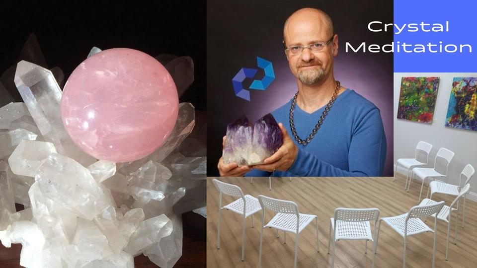 Crystal Meditation with Kyle Russell (Wed 12/12) - Crystal Concentrics